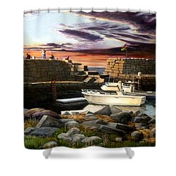 Lanes Cove Gloucester Shower Curtain