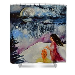 Lantern Festival Shower Curtain