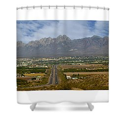 Las Cruces New Mexico Panorama Shower Curtain