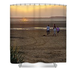 Last Colourful Days Of Summer Shower Curtain