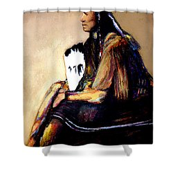 Quanah Parker- The Last Comanche Chief Shower Curtain