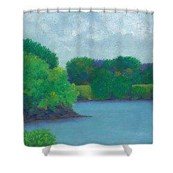 Last Day Shower Curtain