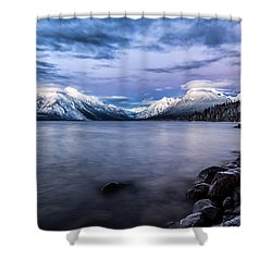 Last Light Shower Curtain by Aaron Aldrich