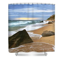 Last Light Before The Storm Shower Curtain