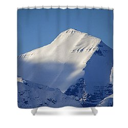 Shower Curtain featuring the photograph Last Light Of The Day by Jack Bell