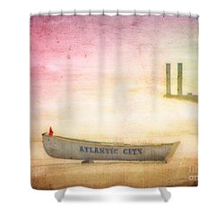 Last Summer Shower Curtain by Colleen Kammerer