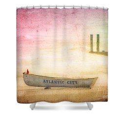 Last Summer Shower Curtain
