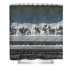 Shower Curtain featuring the photograph Last Supper by Greg Patzer