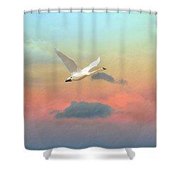 Last Vestige Shower Curtain