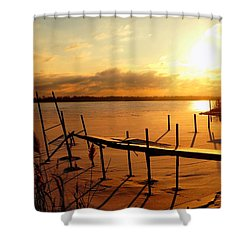 Last Winter ? Shower Curtain