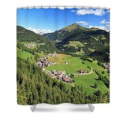 Laste - Val Cordevole Shower Curtain