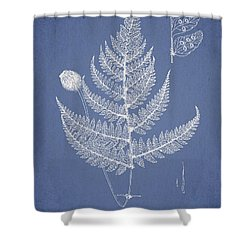 Lastrea Pulvinulifera Shower Curtain by Aged Pixel