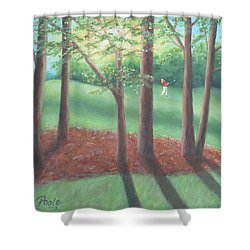 Late Afternoon At Eagle Ridge Shower Curtain