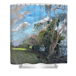 Late Afternoon By Niagara River Shower Curtain by Ylli Haruni