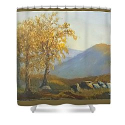 Late Afternoon Glow Shower Curtain by Elizabeth Coats