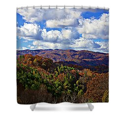 Late Autumn Beauty Shower Curtain