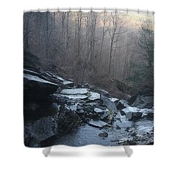 Shower Curtain featuring the photograph Late Autumn by Vadim Levin
