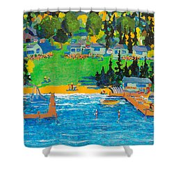 Late In The Season Shower Curtain