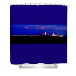 Shower Curtain featuring the photograph Late Night Big Mac by Daniel Thompson