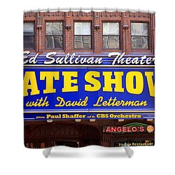 Late Show New York Shower Curtain