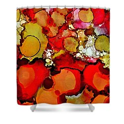 Late Summer Flowers Shower Curtain by Bellesouth Studio