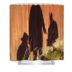 Shower Curtain featuring the photograph Late Summer Walk by Martin Howard
