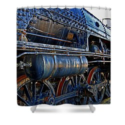 Latent Power Shower Curtain by Skip Willits