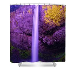 Latourall Falls Shower Curtain by Jeff Swan