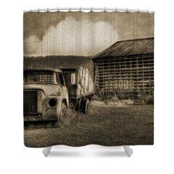 Latsha Lumber Company Shower Curtain