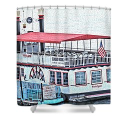 Laughlin Riverboat Shower Curtain