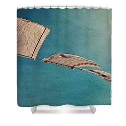 Laundry Day Shower Curtain by Priska Wettstein