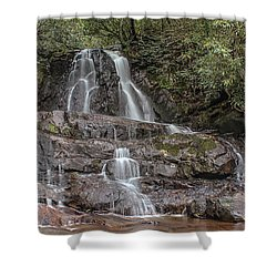 Laurel Falls - Great Smoky Mountains National Park Shower Curtain