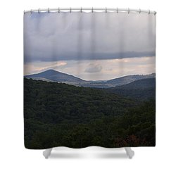 Laurel Fork Overlook 1 Shower Curtain