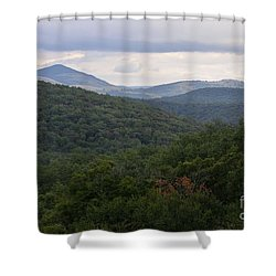 Laurel Fork Overlook II Shower Curtain