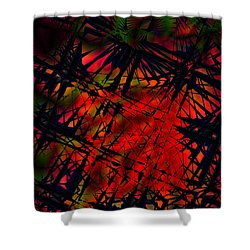 Laurion Heat 1 Shower Curtain