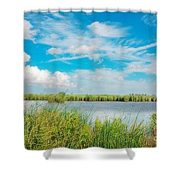 Lauwersmeer National Park. Shower Curtain