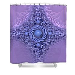 Lavender Beauty Shower Curtain by Lyle Hatch