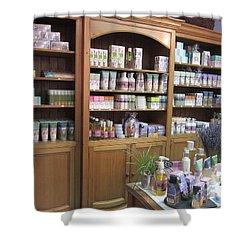 Lavender Museum Shop 1 Shower Curtain by Pema Hou