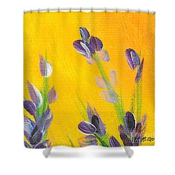 Lavender - Hanging Position 2 Shower Curtain