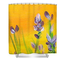 Lavender - Hanging Position 3 Shower Curtain