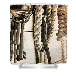 Law And Order Shower Curtain