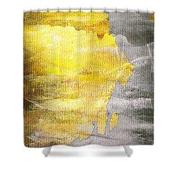 Layers Shower Curtain by Brett Pfister