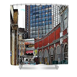 Layers Of London Shower Curtain