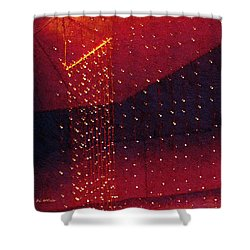 Le Cirque Du Diable Shower Curtain by RC deWinter