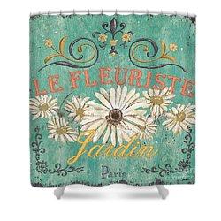 Le Marche Aux Fleurs 6 Shower Curtain