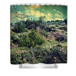 Le Printemps Shower Curtain by Taylan Apukovska