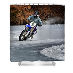 Leader O' Da Pack Shower Curtain