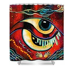 Leadership Spirit Eye Shower Curtain