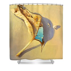 Leaf Of Life Shower Curtain