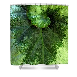 Leafy Greens Shower Curtain